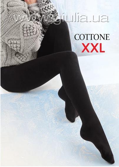 Теплые колготки COTTONE 180 XXL - купить в Украине в магазине kolgot.net (фото 1)
