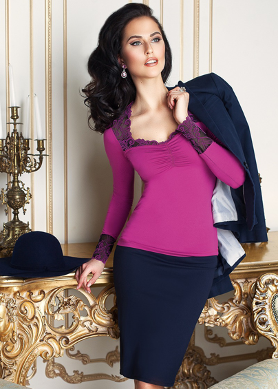 Домашняя одежда 6276 Джемпер женский Anabel Arto - купить в Украине в магазине kolgot.net (фото 1)