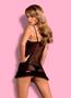 Эротическое белье MALIKA CHEMISE - купить в Украине в магазине kolgot.net (фото 4)