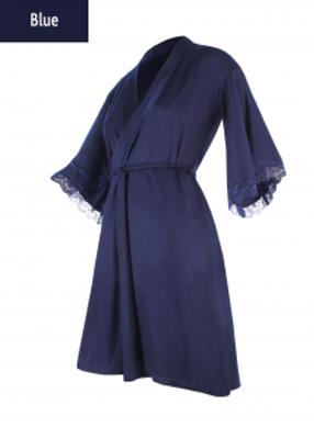 халат женский длинный рукав TM GIULIA Sapphire 7203/031