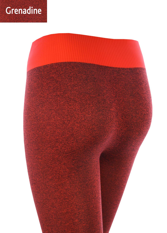 Леггинсы женские Leggings sport melange color вид 2