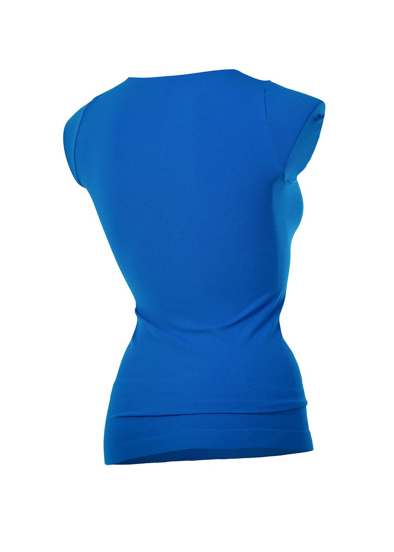 Футболки женские T-shirt scollo tondo manica corta вид 1