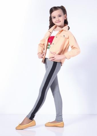 Детские Леггинсы со вставками ТМ GIULIA MELANGE TEEN GIRL