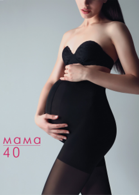 классические колготки для беременных ТМ GIULIA MAMA 40
