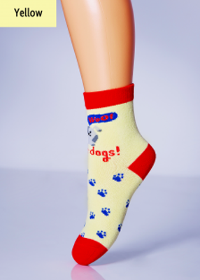 Дитячі шкарпетки з малюнком собачки TM GIULIA KSL-006 calzino