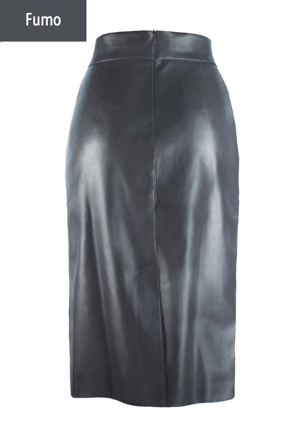 Юбки Pencil skirt leather model 1 вид 8