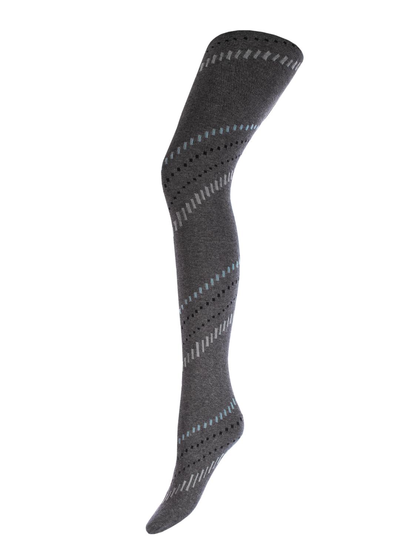 Теплые колготки CLARA MELANGE 200model 3 вид 1