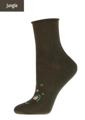 Женские носки теплые с рисунком TM GIULIA WBM-001 calzino