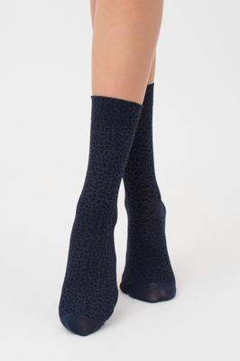 Женские носки в леопардовый принт TM GIULIA MN-01 calzino
