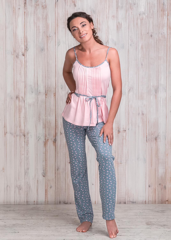 Домашняя одежда штаны mila-7501