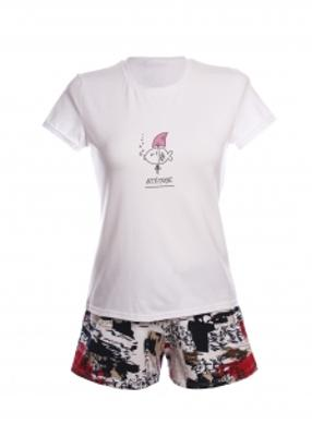 Комплект (футболка с шортами) для домашнего отдыха ТМ GIULIA FISH STORY 6102/010
