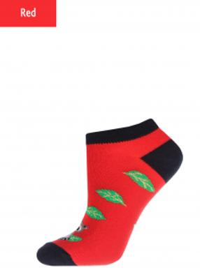 Укороченные женские носки с рисунком TM GIULIA WSS-008 calzino