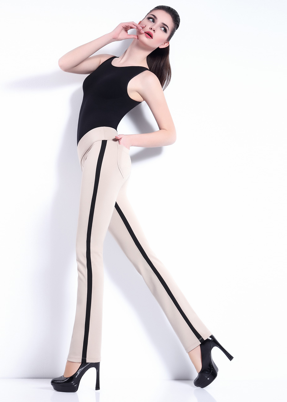 Брюки женские Leggy stripe model 2