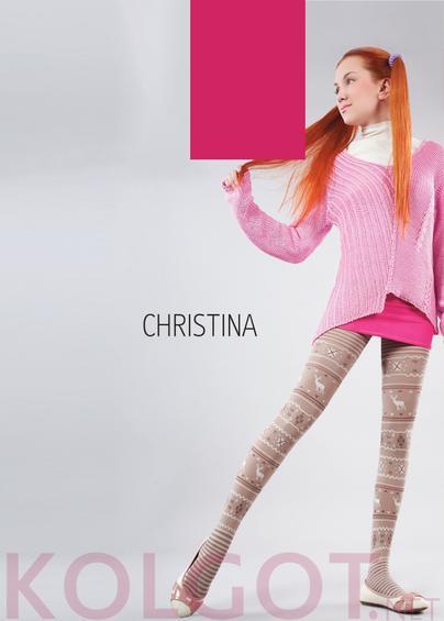 Детские колготки CHRISTINA 150 model 2 <span style='text-decoration: none; color:#ff0000;'>Распродано</span>- купить в Украине в магазине kolgot.net (фото 1)