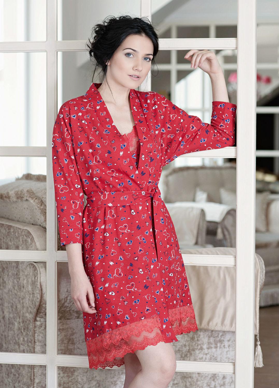 Домашняя одежда халат ldg 018/002
