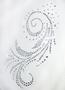 Водолазка женская LUPETTO SMANICATO STRASS S-005 bianco - купить в Украине в магазине kolgot.net (фото 2)