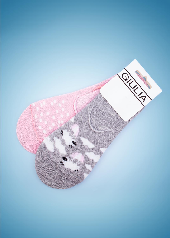 Носки женские Footies-fw 002 (комплект 2 пары)