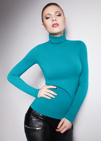 Водолазка женская DOLCEVITA MANICA LUNGA Водолазка с длинной горловиной и длинным рукавом- купить в Украине в магазине kolgot.net (фото 1)