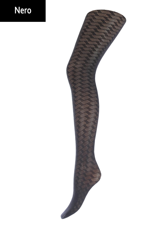 Колготки с рисунком Sonetta 100 model 1 вид 1