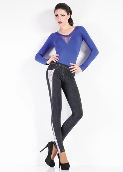 Леггинсы женские LEGGY BLOOM model 1 - купить в Украине в магазине kolgot.net (фото 1)