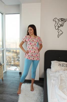 комплект (штаны и футболка) для домашнего отдыха TM GIULIA PRETTY 5104/010