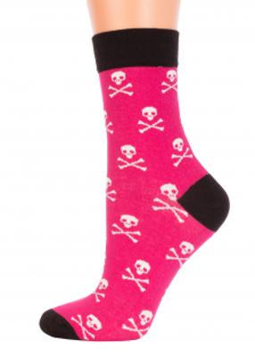 женские носочки с черепочками TM GIULIA CL-36