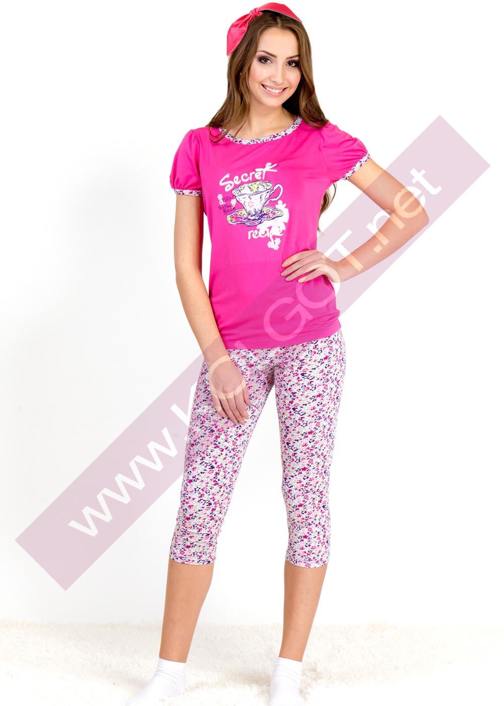 Домашняя одежда Домашний комплект джемпер + бриджи Top Secret 01309П<span style='color:#ff0000;'>Распродано</span>