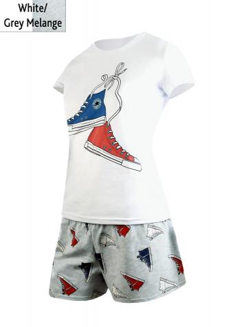 Комплект (футболка з шортами) для домашнього відпочинку ТМ GIULIA FREEDOM 6102/010