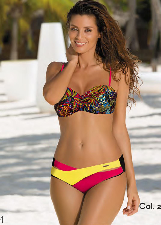 Раздельные купальники разноцветный купальник с5702 377 margaret вид 9