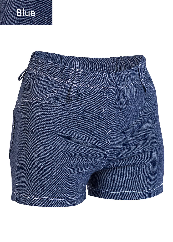 Шорты женские Shorts mini jeans model 4 вид 2