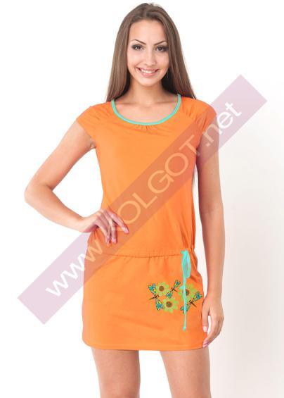 Домашняя одежда Домашнее платье Daisies 01026П- купить в Украине в магазине kolgot.net (фото 1)