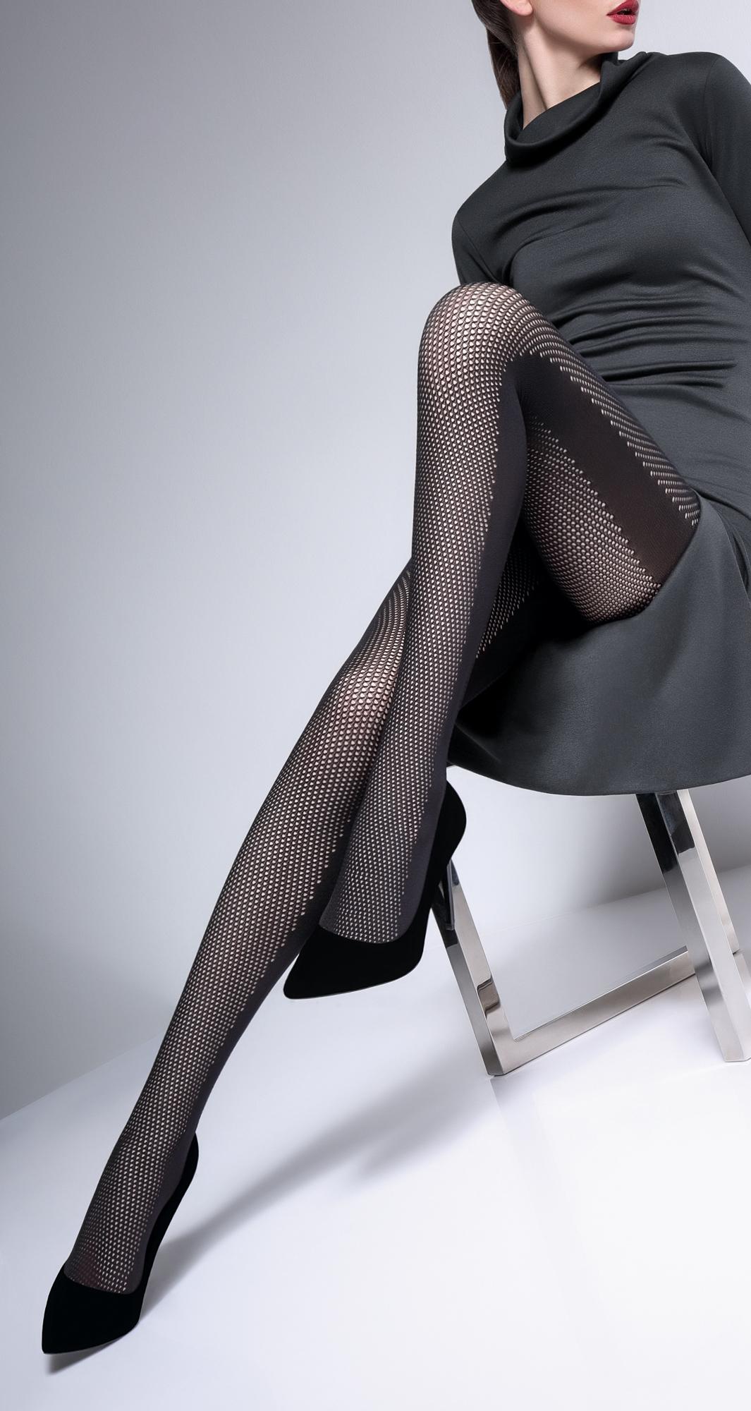 Колготки с рисунком Rete fashion 80 model 2