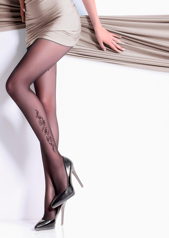 Колготки с рисунком Malena 20 model 2 вид 3