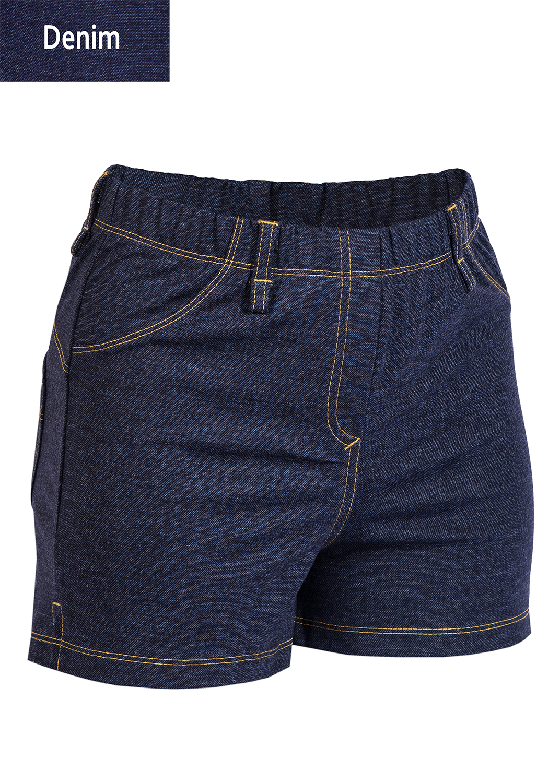 Шорты женские Shorts mini jeans model 4 вид 3