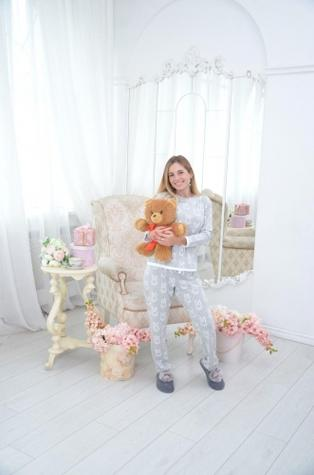 Kомплект (штаны и кофта) для домашнего отдыха TM GIULIA BIG BUNNY 5306/010