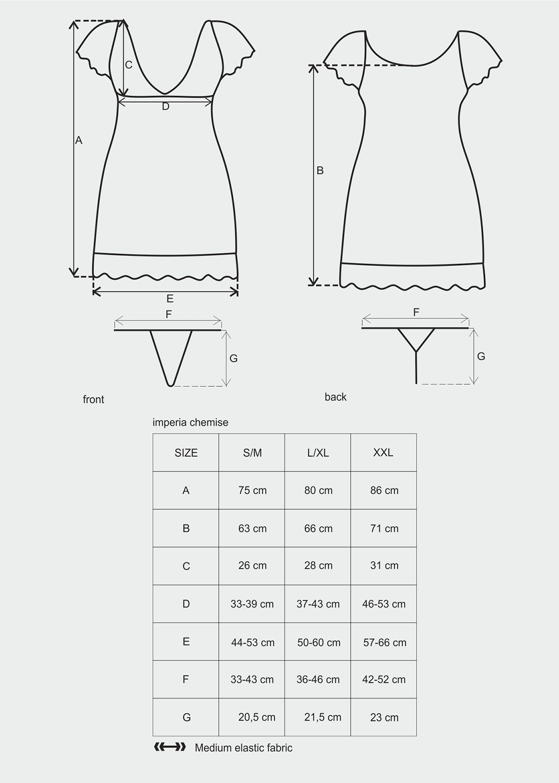 Эротическое белье Imperia chemise вид 4