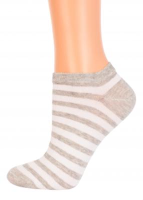 Полосатые носки (укороченные) TM GIULIA CS-2003