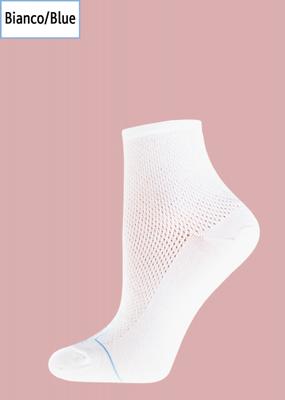 Шкарпетки з перфорацією і малюнком кота TM GIULIA WTRM-006 calzino