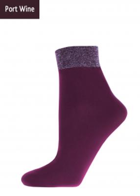 Женские носки с блестящей резинкой TM GIULIA MLN-01 (Lurex) calzino 60