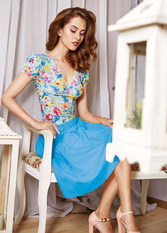 Домашняя одежда блузка 6036 вид 2