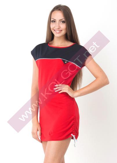 Одежда для дома и отдыха Домашняя туника Tunic 02401 <span style='color:#ff0000;'>Распродано</span>- купить в Украине в магазине kolgot.net (фото 1)