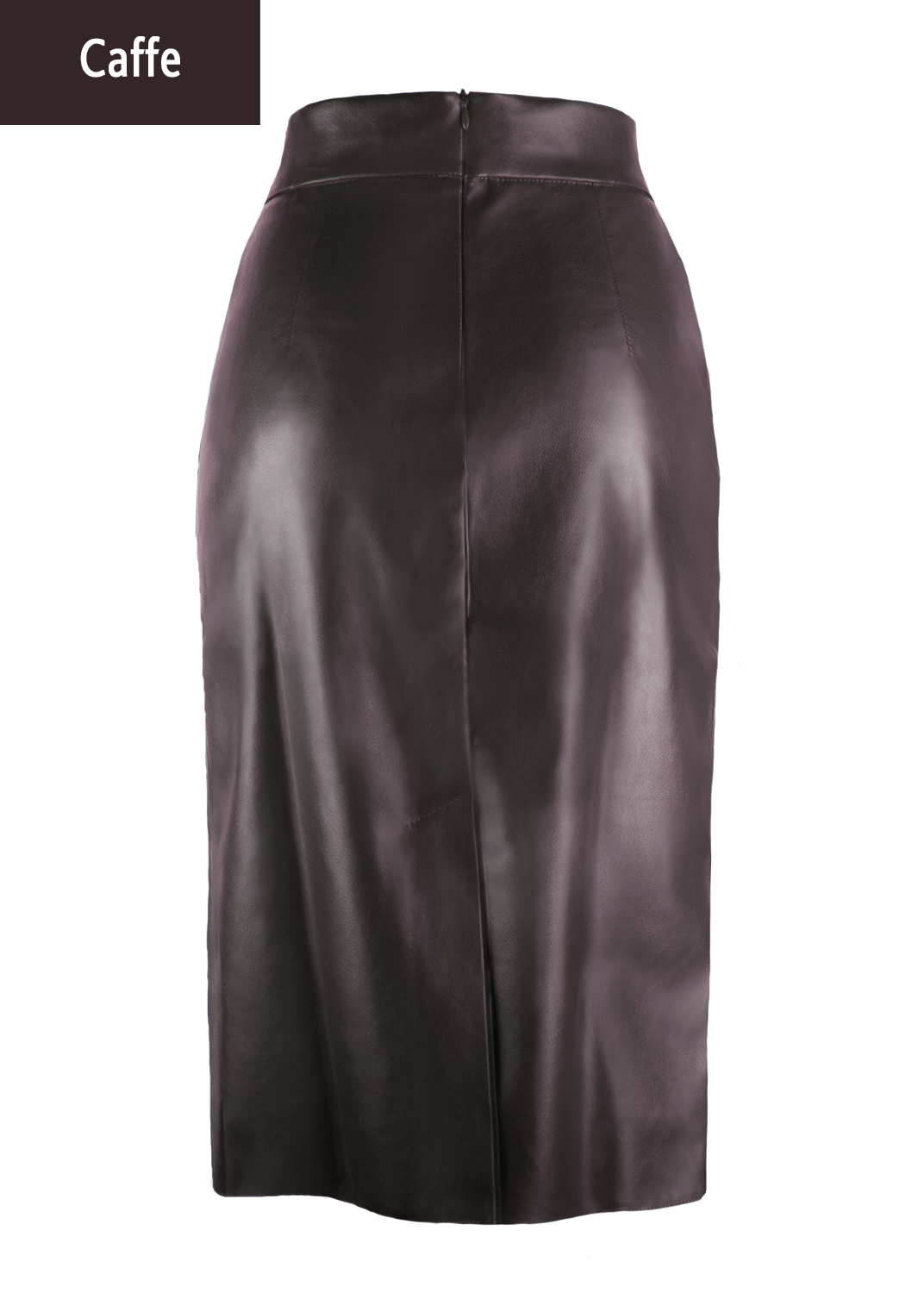 Юбки Pencil skirt leather model 1 вид 6
