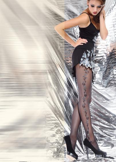 Колготки с рисунком SHAKE 40 model 8 <span style='text-decoration: none; color:#ff0000;'>Распродано</span>- купить в Украине в магазине kolgot.net (фото 1)