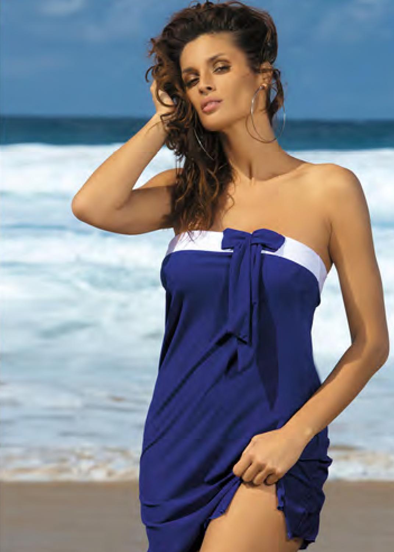 Пляжная одежда пляжное платье-парео п2323 241 mia вид 2