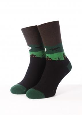 Тематические мужские носки TM GIULIA MSL HALLOWEEN-01 calzino