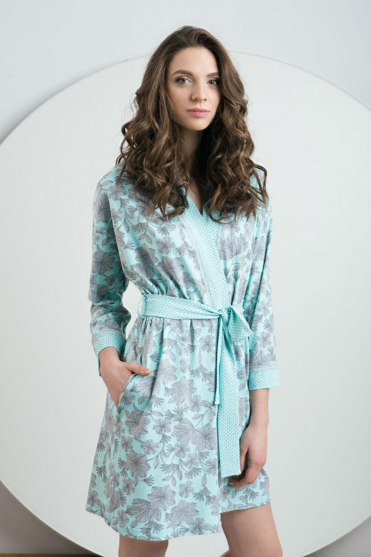 Домашняя одежда женский халат ldg 026/001