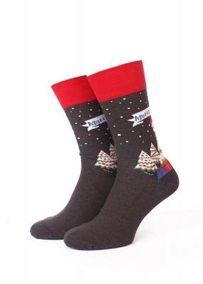 Мужские тематические носки ТМ GIULIA MS3C/Sl-NEW YEAR-004