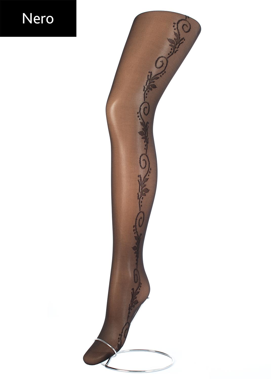 Колготки с рисунком Flory 40 model 9 вид 3