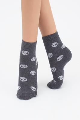 Дитячі шкарпетки меланж з малюнком TM GIULIA KSL-019 MELANGE calzino