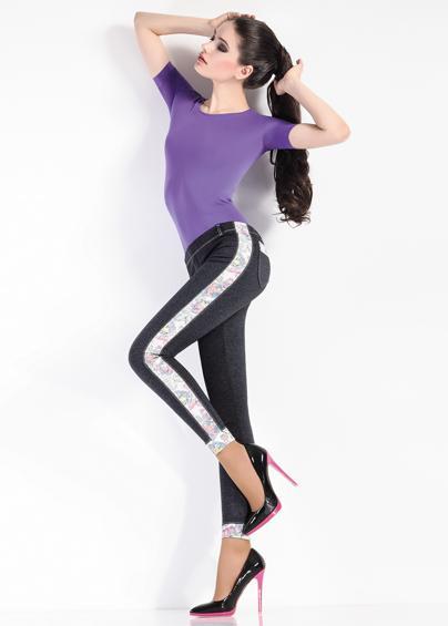 Леггинсы женские LEGGY BLOOM model 2 - купить в Украине в магазине kolgot.net (фото 1)
